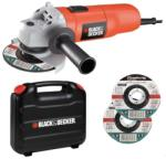 Black & Decker CD115KAX Polizor unghiular