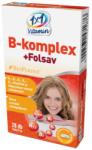1x1 Vitaday B-komplex+Folsav BioPerine tabletta 28db