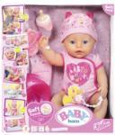 Zapf Creation Baby Born Fata interactiva cu corp moale (ZF824368) Papusa