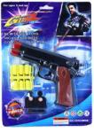 GunZ Pistol de Jucarie cu 12 Gloante de Cauciuc
