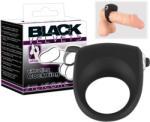 Orion Black Velvet - vibrációs péniszgyűrű (fekete)