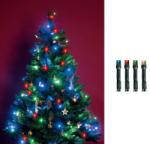 Home Beltéri LED-es fényfüzér 200db, 16m - színesfényű (KII 200/M)
