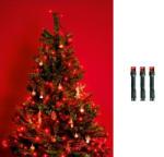 Somogyi Elektronic Home Beltéri LED-es fényfüzér 50db, 4m - piros (KII 50/R)