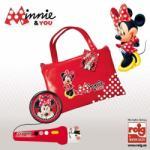 Reig Minnie Mouse - Geanta cu Microfon si Amplificator (5250)