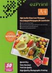 ezPrint A4 260gr / lap, fotópapír tintasugaras nyomtatókhoz! (1014300-1)