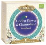 Hari Tea Ceai cu tei și mușețel Sweetheart Hari Tea 10-plicuri