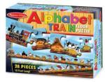 Melissa & Doug MD0424 (28) - Trenul alfabet Puzzle