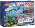 Melissa & Doug MD0432 (48) - Mijloace de transport Puzzle