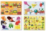 Melissa & Doug MD0447 (48) - Educational 4 Puzzle