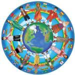 Melissa & Doug MD2866 (48) - Copiii lumii Puzzle