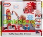 Little Tikes Blocuri de constructie - Sectie pompieri (64314)