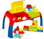 Mochtoys Maxi table - Măsuţă de construcţii cu cuburi (11019)