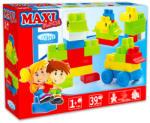 Mochtoys Maxi Blocks - cuburi de construcţii mari din plastic - 39 piese (10944)