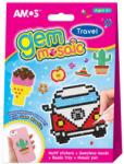 Amos Gem Mosaic - Travel utazás mozaik készlet