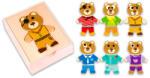 Tooky Toy Fa öltöztethető maci (TY291)