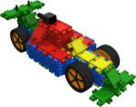 Clics Toys Set 24in1 Clics - Cutie de depozitare pe roti - 400 piese (HOE03311)