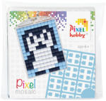 Pixelhobby Pixel Mosaic kulcstartókészítő szett - Pingvin (23012)