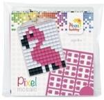 Pixelhobby Pixel Mosaic kulcstartókészítő szett - Flamingó (23021)