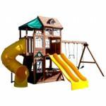 KidKraft Complex de joaca din lemn Lookout Lodge Kidkraft (AAD. KKF25720)
