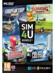 Excalibur SIM4U Bundle 1: European Ship Simulator + Farming World + Post Master + Police Simulator 2 (PC) Játékprogram