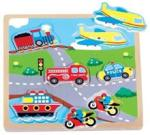 New Classic Toys Puzzle Transport Cu Sunete (NC0527)