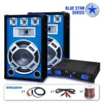 "Skytronic PA Set Blue Star Series "" Beatsound Bluetooth MP3"" 2000W (BS-Beatstar) (BS-Beatstar) - electronic-star"