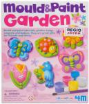 4M Mould & Paint Garden - Virágoskert hűtőmágnes formázó és kifestő készlet 64562