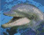 Pixelhobby Delfin képkészlet, 1 alaplapos (801001)