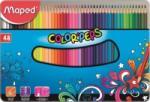 Maped Creioane colorate Color'Peps 48 culori/set cutie metal Maped 832058