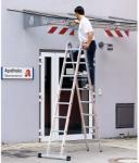 Zarges Z600 - Scara multifunctionala articulata 2x4 trepte (41941)