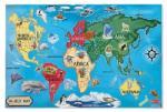 Melissa & Doug MD0446 (33) - Harta Lumii Puzzle