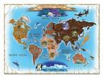 Melissa & Doug MD3171 (500) - Harta Lumii Puzzle