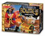 Melissa & Doug MD4402 (100) - Comoara piratilor Puzzle