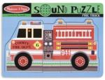Melissa & Doug MD0731 (9) - Masina de pompieri Puzzle