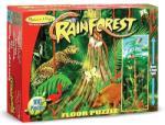 Melissa & Doug MD0444 (100) - Padurea Tropicala Puzzle