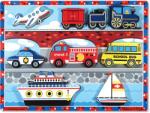 Melissa & Doug MD3725 (9) - Mijloace de transport Puzzle