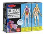 Melissa & Doug Puzzle de podea MD0445 (100) - Corpul Uman Puzzle