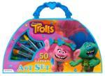 Starpak Trollok rajzkészlet táskában 50 részes