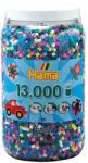 Hama Vegyes vasalható midi gyöngy 11-féle színű 13000 db-os