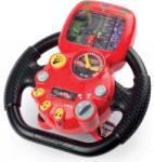 Smoby Cars 3 V8 Driver - Simulator auto cu volan electronic cu sunet şi lumină (370106)