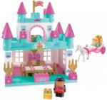 Ecoiffier Abrick Castel mare pentru prinţesă cu caleaşcă şi cu prinţesă (3088)
