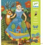 DJECO Hímzőkészlet - Canvas Dress - Kislány és az őzike (9827)