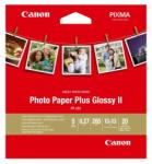 "Canon Plus Glossy II PP-201, 5x5"", 20 sheets (BS2311B060AA)"