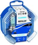 Neolux Set 2 becuri auto halogen pentru far Neolux Blue Light H7 55W 12V