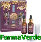 Natura Siberica Cosmetica Verde Biocomplex intensiv facial Anti-Age in doua faze NST36 Natura Crema antirid contur ochi