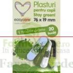 EASY CARE Plasturi pentru copii STAY GREEN 20 bucati Easy Care