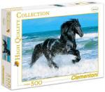 Clementoni CLE30175 (500) - Cal negru Puzzle