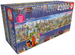 Educa Panoráma puzzle - Around the world - A világ körül 42000db-os (17570)