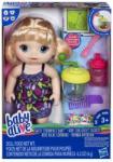 Hasbro Baby Alive - Sweet Spoonful szőke hajú baba robotgéppel (E0586)
