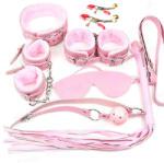 """Bdsm Комплект """"pink bondage"""" 7 части (xfun-j0015)"""